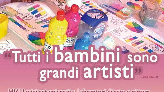 I bambini sono grandi artisti